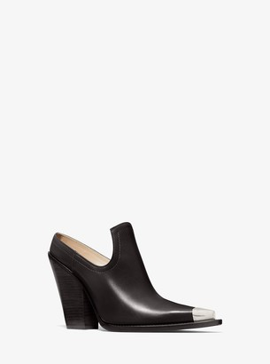 Michael Kors Collection Kory Leather Mule