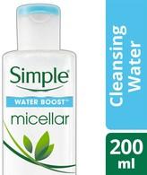 Simple Water Boost Micellar Cleansing Water 200ml