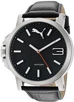 Puma Unisex PU103461001 Ultrasize silver black Analog Display Watch