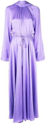 SOLACE London Akan high neck maxi dress