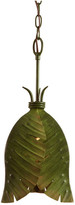 Varaluz Banana Leaf 1-Light Mini Pendant, Banana Leaf