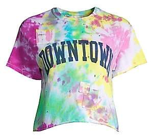 Riley Women's Downtown Hippie Tie Dyed T-Shirt
