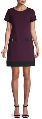 Tommy Hilfiger Short-Sleeve Mini Dress
