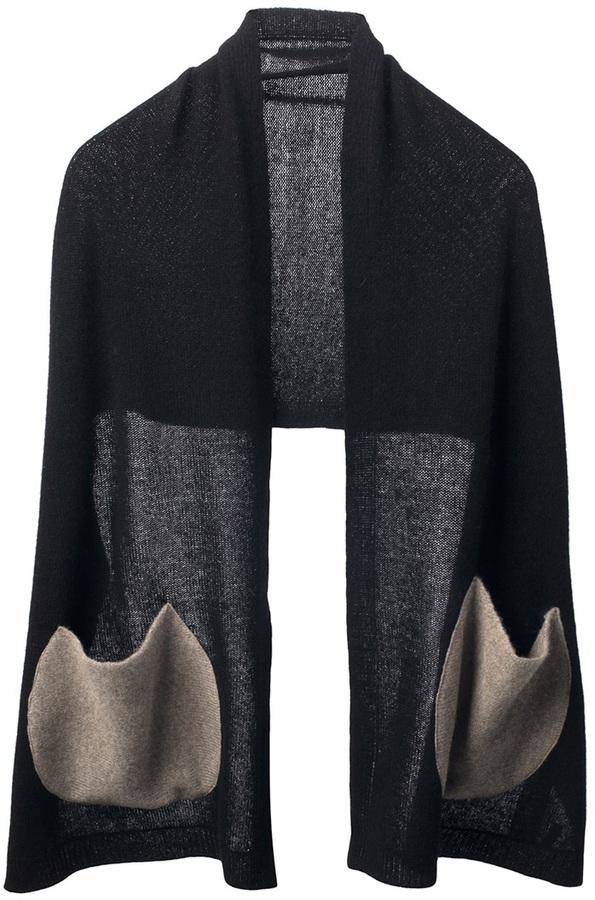 Tsumori Chisato knitted shawl