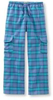 L.L. Bean Girls' Flannel Cargo Pants