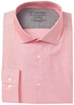 Calvin Klein Solid Extreme Slim Fit Dress Shirt