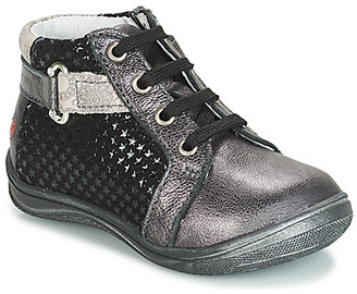 GBB RICHARDINE girls's Shoes (High-top Trainers) in Grey