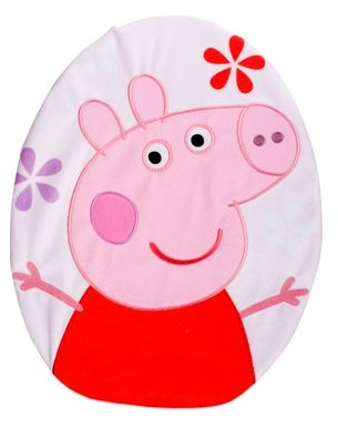 Peppa Pig Peppa's Pond Natures Stroll Toilet Lid Cover, 1 Each