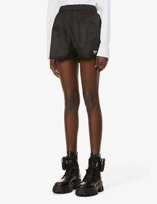 Prada Re-Nylon high-rise shell shorts