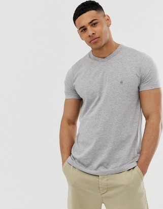 French Connection v neck t-shirt-Grey