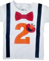 Perfect Pairz 2nd Birthday Shirt Boys Elmo Tee