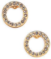 Vera Bradley Pavé Circle Stud Earrings