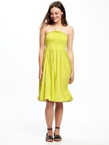 Old Navy Fit & Flare Halter Dress for Women