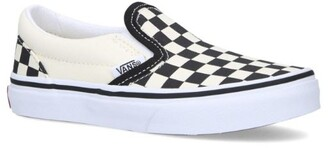 Vans Checkerboard Classic Slip-On Sneakers