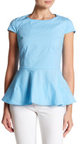 Lands' End Canvas Peplum Blouse