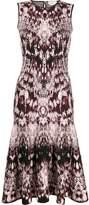 Alexander McQueen sleeveless jacquard dress