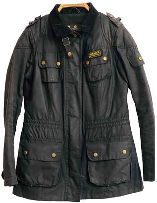 Barbour Black Cotton Jacket for Women