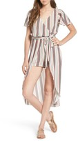 Love, Fire Women's Surplice Maxi Romper