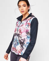 Ted Baker Mirrored Minerals shower-proof jacket