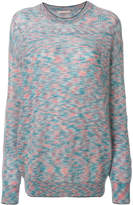 Christopher Kane tipped crew neck jumper