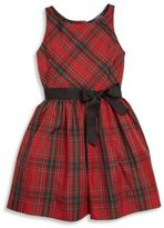 Ralph Lauren Toddler's, Little Girl's & Girl's Plaid Fit-&-Flare Dress