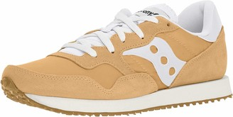 Saucony mens Dxn Vintage Sneaker Tan/White 11.5 US