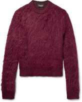 Calvin Klein 205w39nyc - Brushed Mohair And Silk-blend Sweater