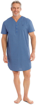 Reserve Short Sleeve Poplin Nightshirt