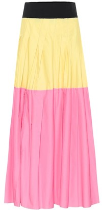 Plan C Pleated maxi skirt