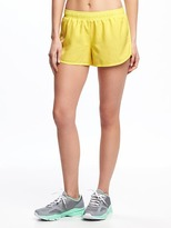 Old Navy Go-Dry Cool Semi-Fitted Run Shorts for Women
