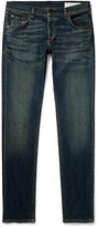 Rag & Bone Slim-Fit Fit 2 Washed Stretch-Denim Jeans
