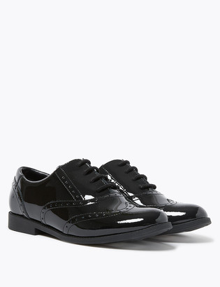 Marks and Spencer Kids' Leather Freshfeet School Shoes (13 Small - 7 Large)