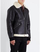 A.p.c. Blouson Rene Leather Jacket