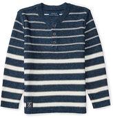 Ralph Lauren 2-7 Cotton-Linen Henley Sweater