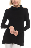 Celeste Black Cowl Neck Tunic