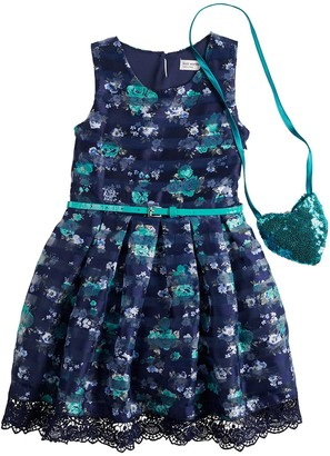 Knitworks Girls 4-6x Knit Works Organza Skater Dress