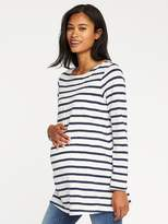 Old Navy Maternity Relaxed Mariner-Stripe Tee