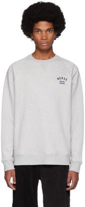 Norse Projects Grey Ketel Ivy Wave Sweatshirt