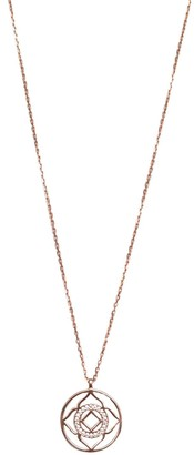 Wild Hearts Demi Lotus Necklace Rose Gold