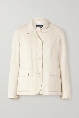 Loro Piana Roadster Shell Jacket - Ivory