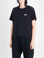 Y-3 Y3 Graphic cotton-jersey T-shirt