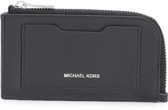 Michael Kors Logo Printed Cardholder
