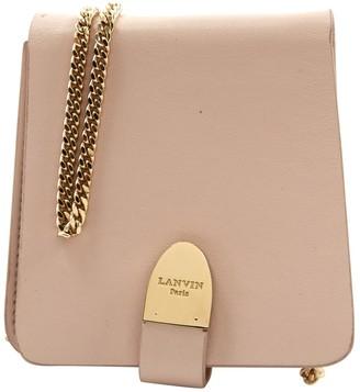 Lanvin Ecru Leather Handbags