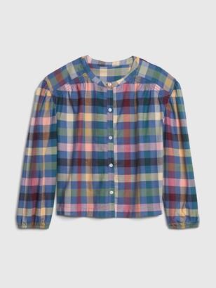 Gap Kids Smocked Shirt