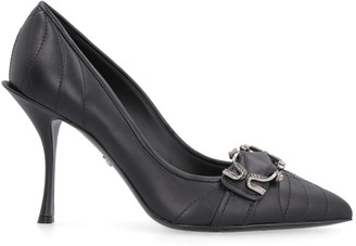 Dolce & Gabbana Leather Pointy-toe Pumps
