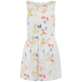 No Added Sugar No Added SugarWhite Floral Print Pleated Dress