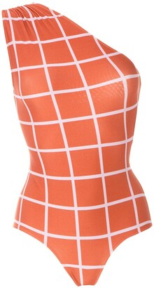 Adriana Degreas One Shoulder Swimsuit