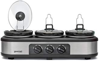 Gourmet GTSC002 Triple 3.9L Slow Cooker