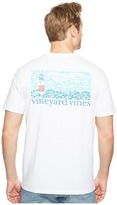 Vineyard Vines Short Sleeve Fish Lighthouse Pocket T-Shirt Men's T Shirt