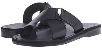 Jerusalem Sandals Asher - Mens (Black) Men's Shoes